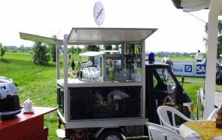 Ape50 Eichbaum Biermobil