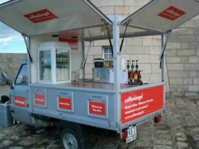 CoffeeAngel Piaggio APE TM Kaffee Mobil in Dublin von Schira Mobil