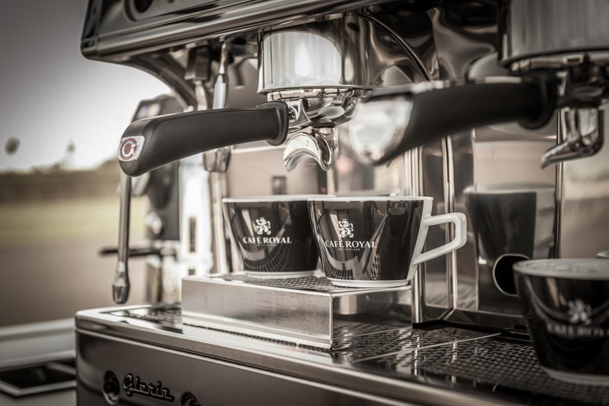 Die Espressomaschine das Herzstück bei jeden Café Mobil.