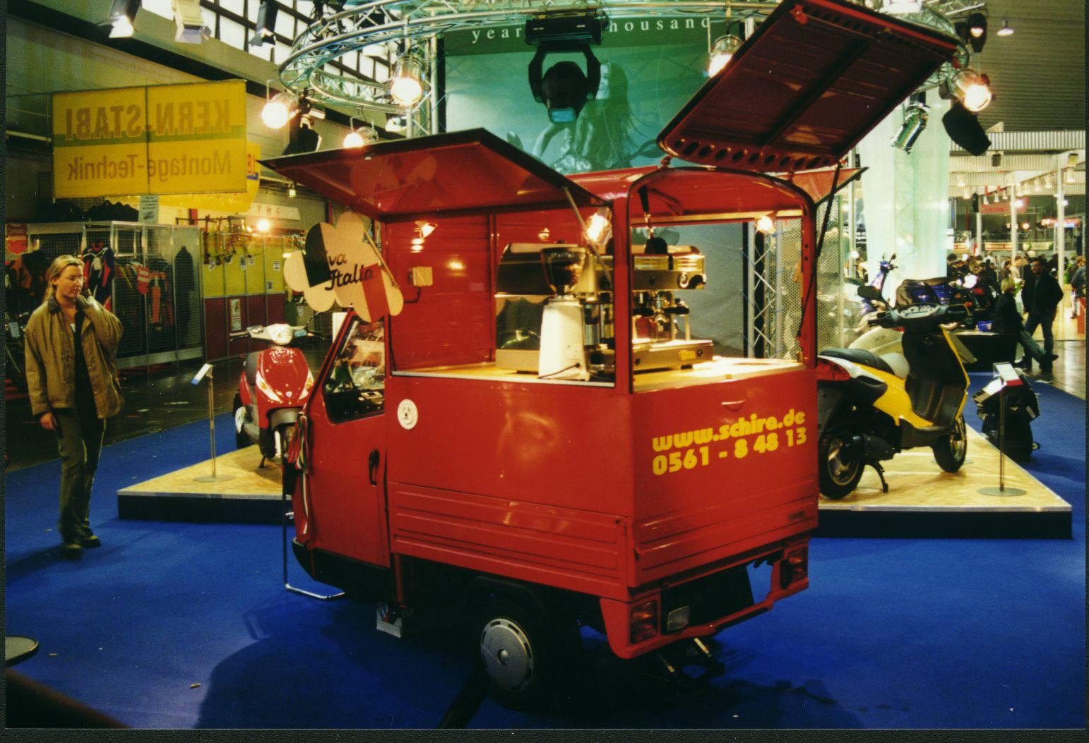 Ape 50 Café Mobil 1998