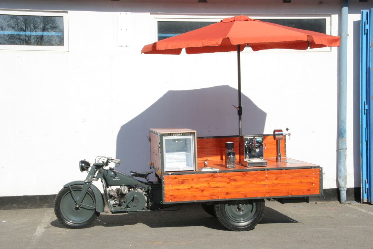 Guzzi Calletto das Espressomobil