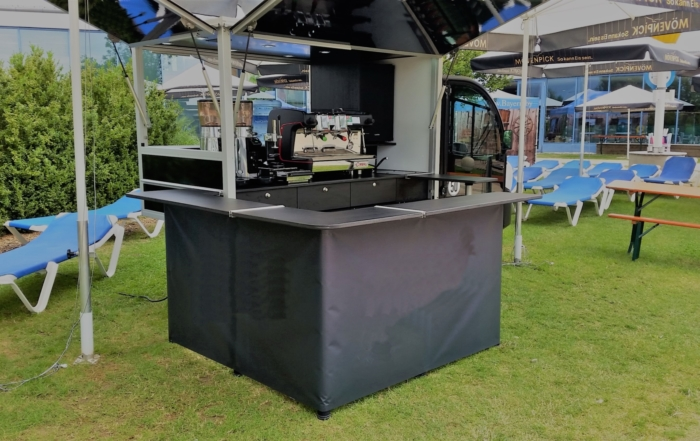 Das McCafé Mobil Espressomobil