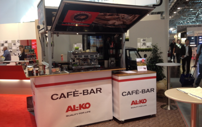 Mit dem Schira café Mobil auf dem Caravan Solon 2014