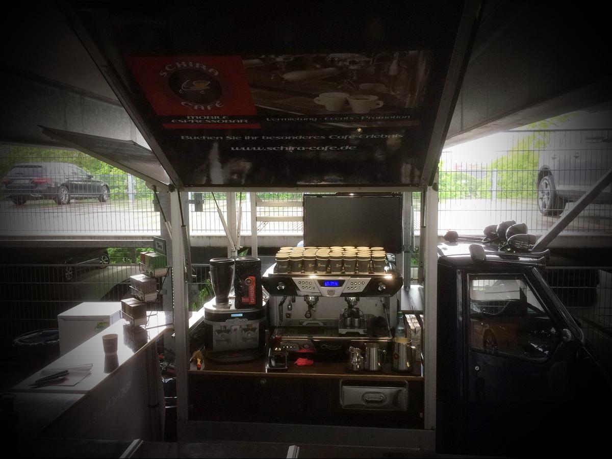 Taximesse Fulda 2017 und Schira Café , die mobilen Barista.