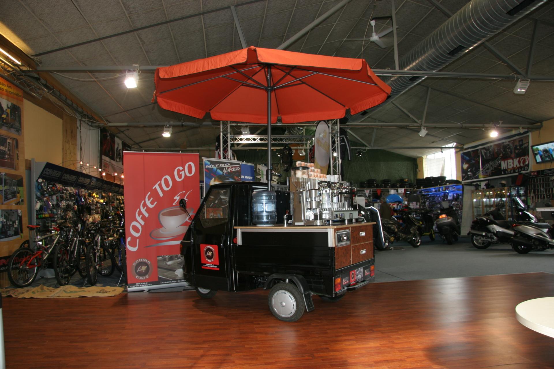 APE 50 Mini mit Espressoaufbau