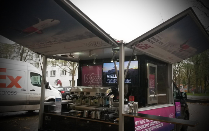Wizz Air Promotion 2017 mit dem Expert Balck Edition und Schira Café