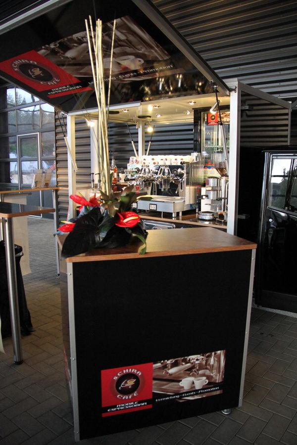 Ape Cafe Mobil mit Espressomaschine , die mobile Kaffeebar