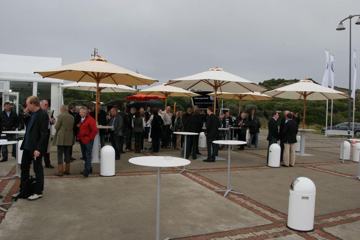 Ape Kaffeemobil in Sardinien im Einsatz