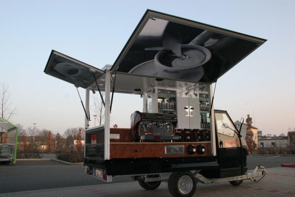 Ape 50 Cafe Mobil Anhänger
