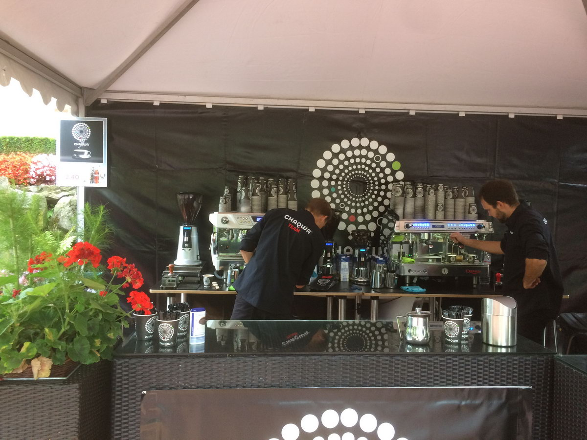Espresso Doppelbar für Chaqwa