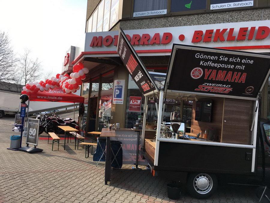 Mit dem Cafémobil bei Louis in Kassel