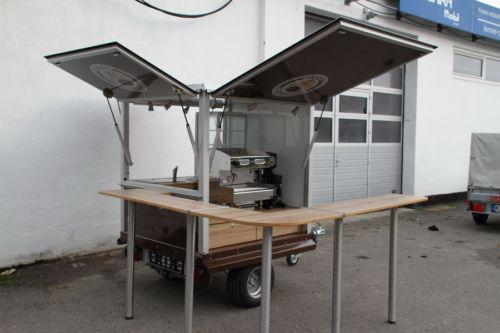 Die Coffe Box , das kleine Espressomobil gebraucht