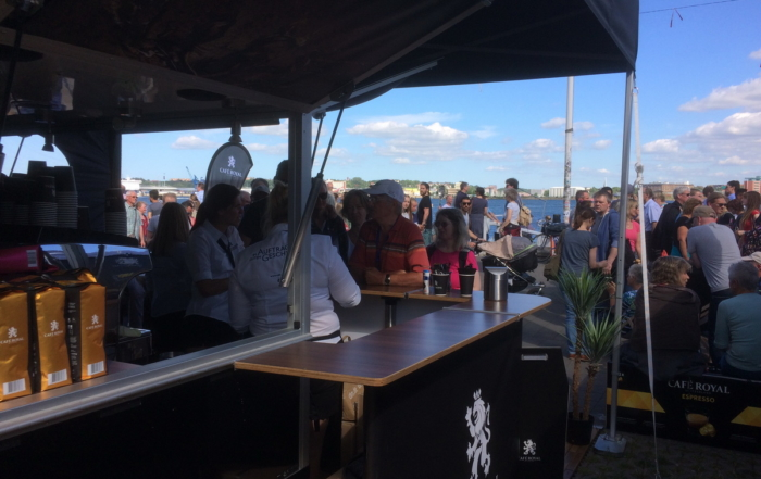 Cafe Royal auf der Kieler Woche