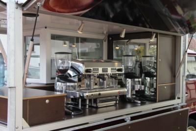 Das besondere Kaffeemobil auf der Basis des VW T2