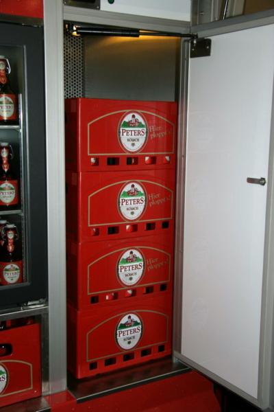Kühlhaus und Lagerraum mit aktiver Kühlung