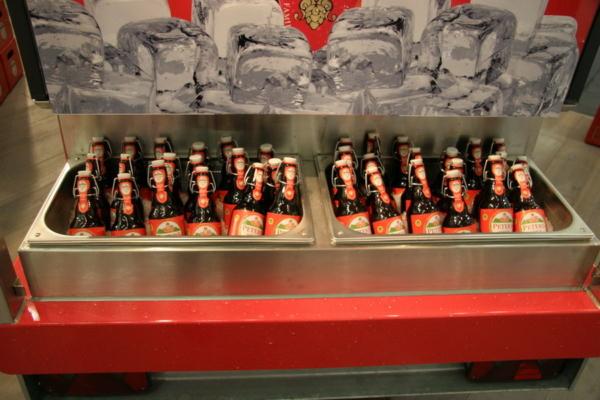 Ape 1200 AFG Flaschen Eisfach