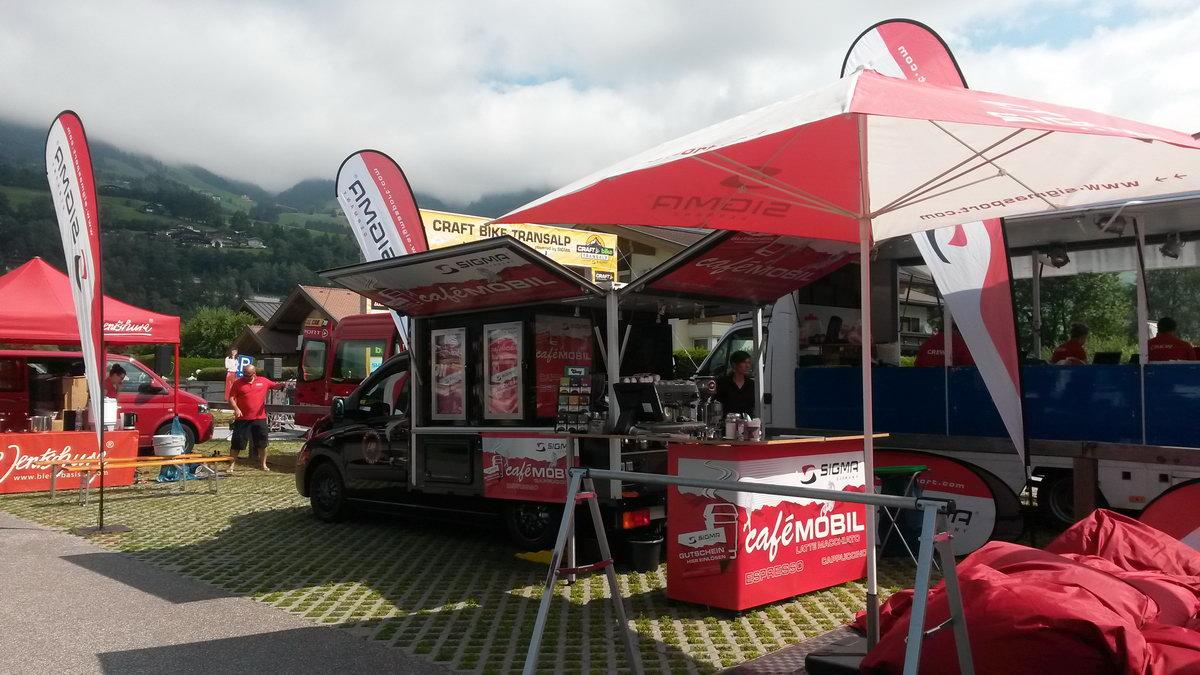 Sigma Trans Alp Espressomobil und Kaffeemobil Promotion