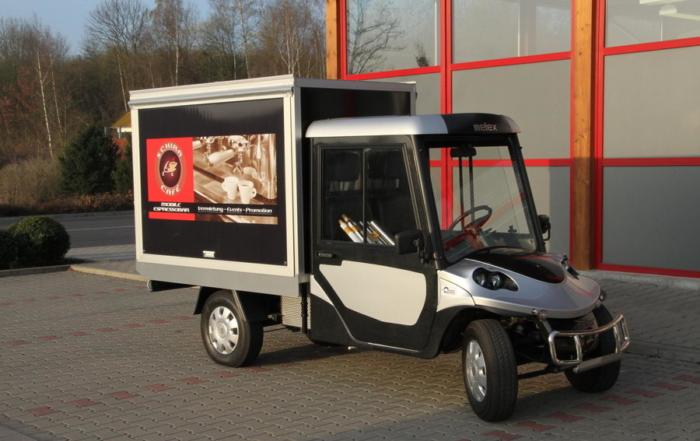 Melex 200-C Kaffeemobil und Elektromobil