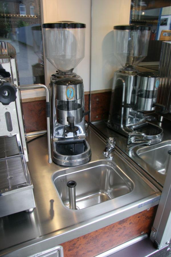 Die Espressomühle im Kaffeemobil