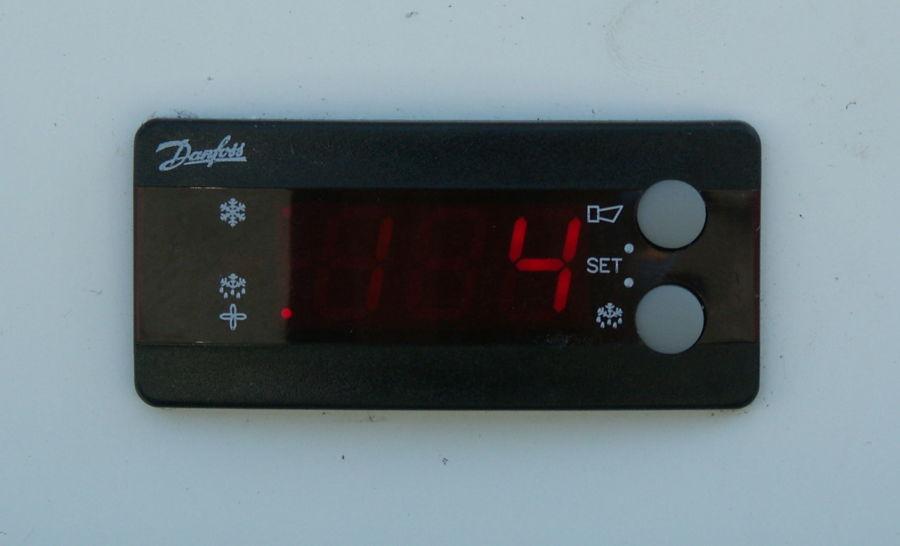 Temperatursteuerung Biermobil Flaschenkühlschrank