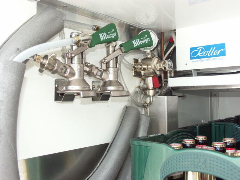 Keckhalter Biermobil