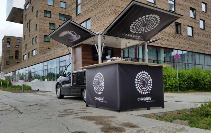 Peugeot Partner Black Edition Kaffeemobil bei Chaqwa in Berlin