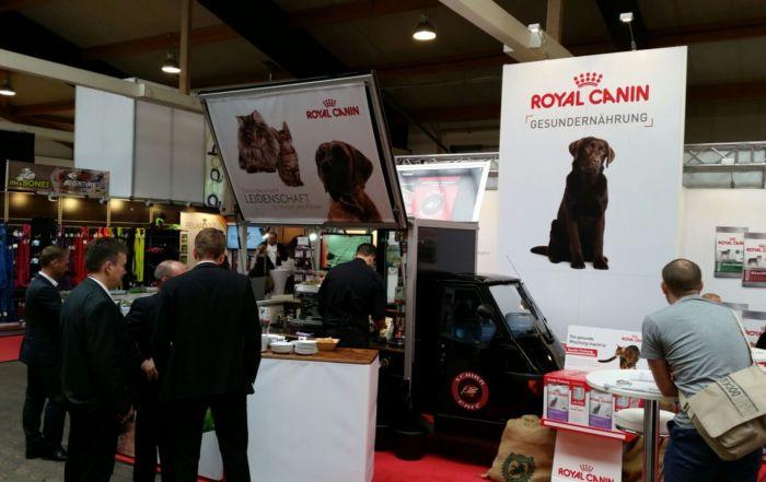 Ape Kaffeemobil Royal Canin Messe Kassel