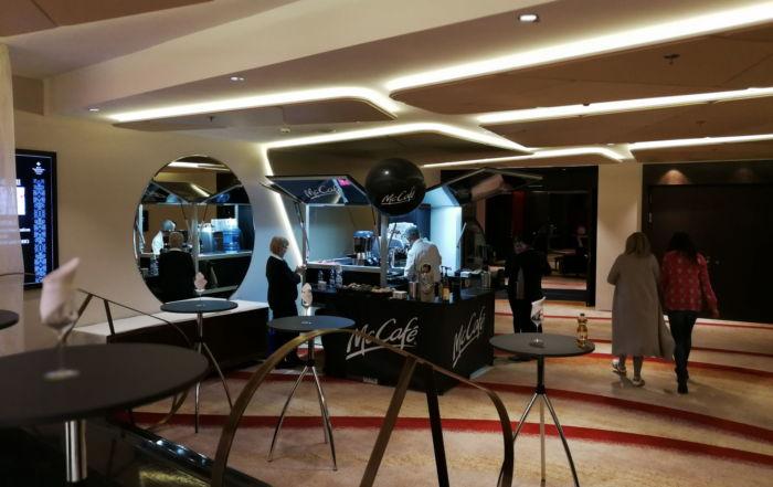 Fashion Dinner 2018 McCafe und dem Kaffeemobil