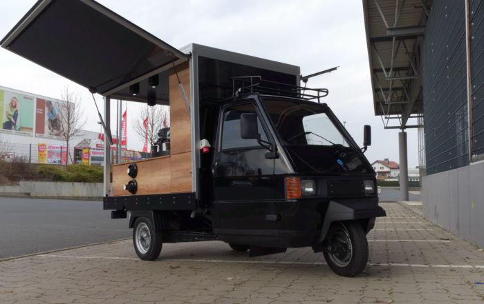 TM 703 Promotion Mobil Kaffeemobil