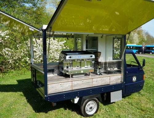 Das neue APE TM 703 Kaffeemobil für die Schweiz