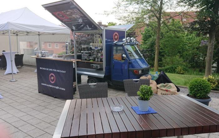 Die Ape 50 Classic Hessentag 2018 Kaffeemobil