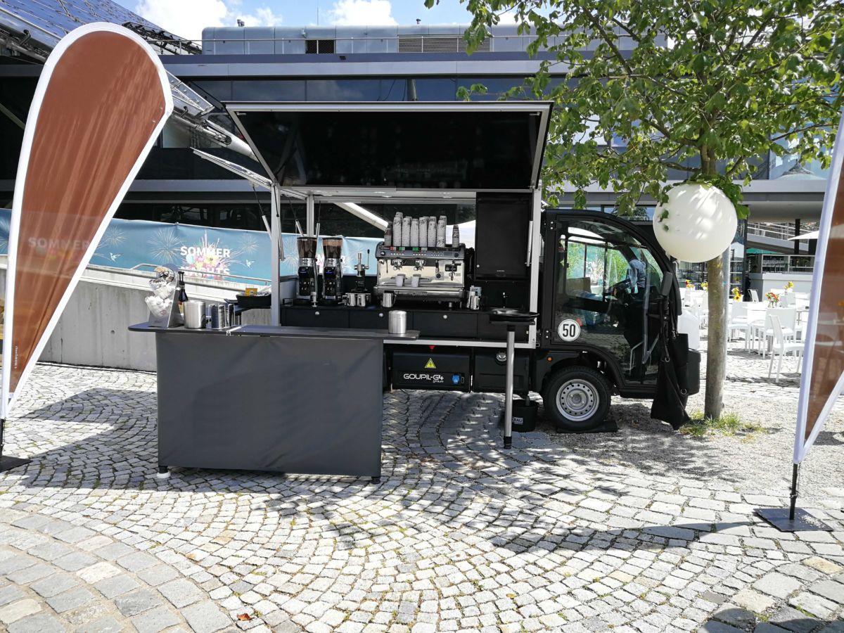 Ape TM 703 das Ape Kaffeemobil und Espressomobil