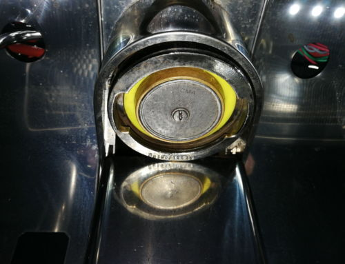 Spezial Flexi Dichtung für die Espressomaschinen-Brühgruppe