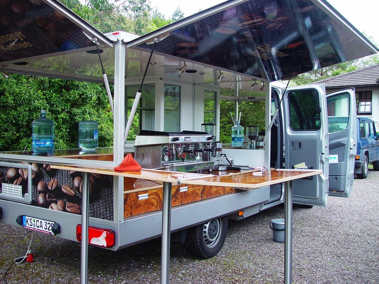 Mercedes Sprinter Espressomobil , das große Kaffeemobil für die mobilen Einsatz