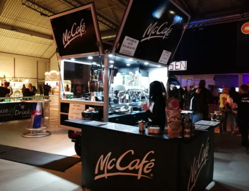 McCafé auf der sunshine live 90er Party