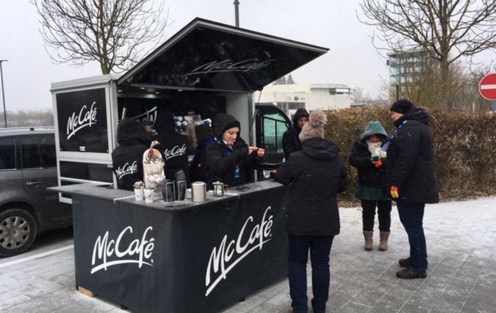 McCafé bei Antenne Bayern
