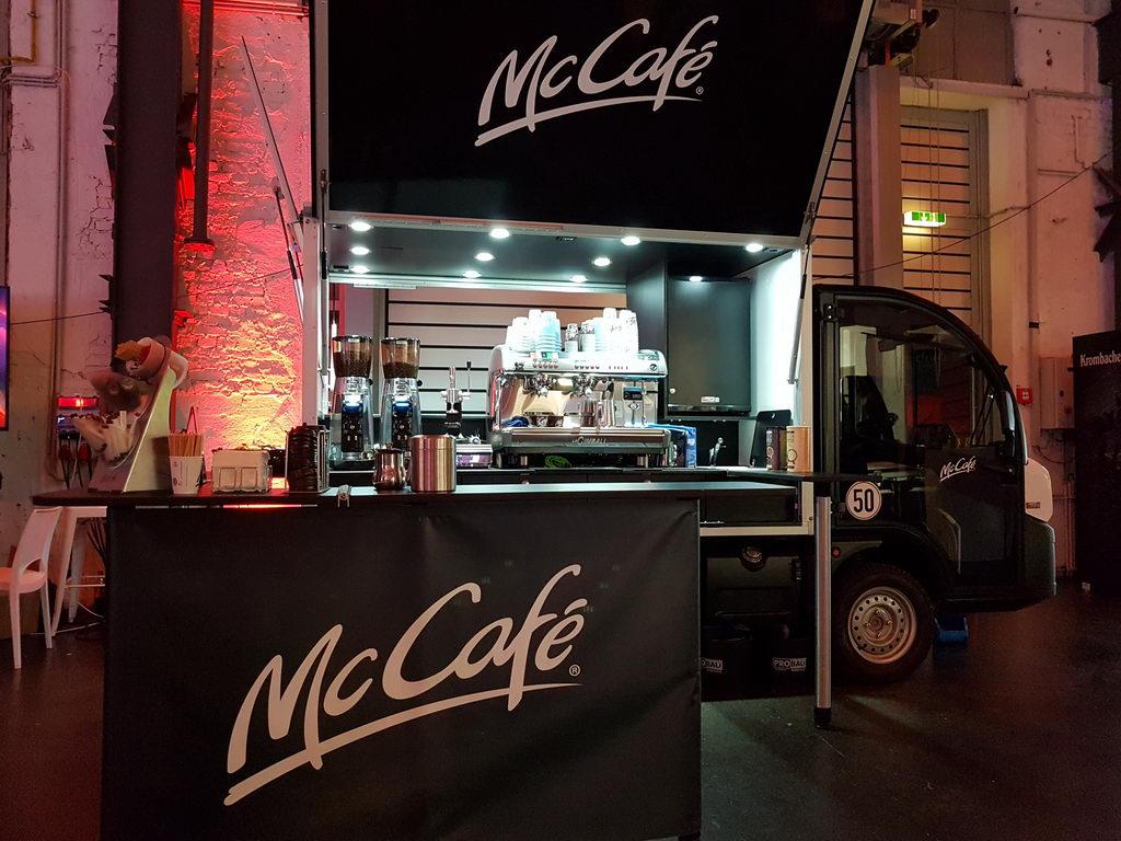 McCafé Mobil GNTM 2019 Schira Mobil