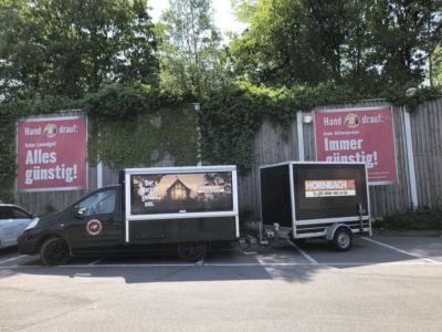 Hornbach Espressomobil Promotion