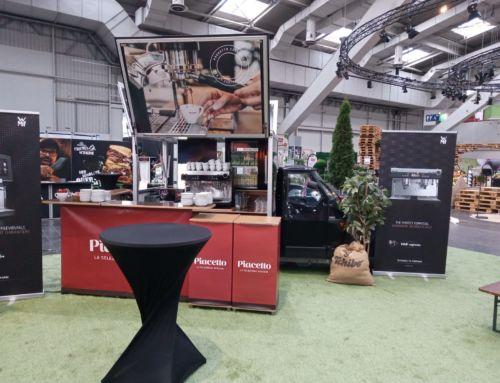 Das Piacetto Espressomobil bei der EDEKA Messe