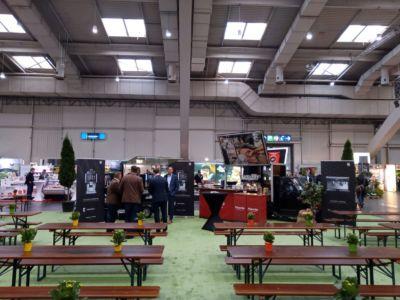 Piacetto Kaffeemobil im Baristaeinsatz auf der EDEKA Messe