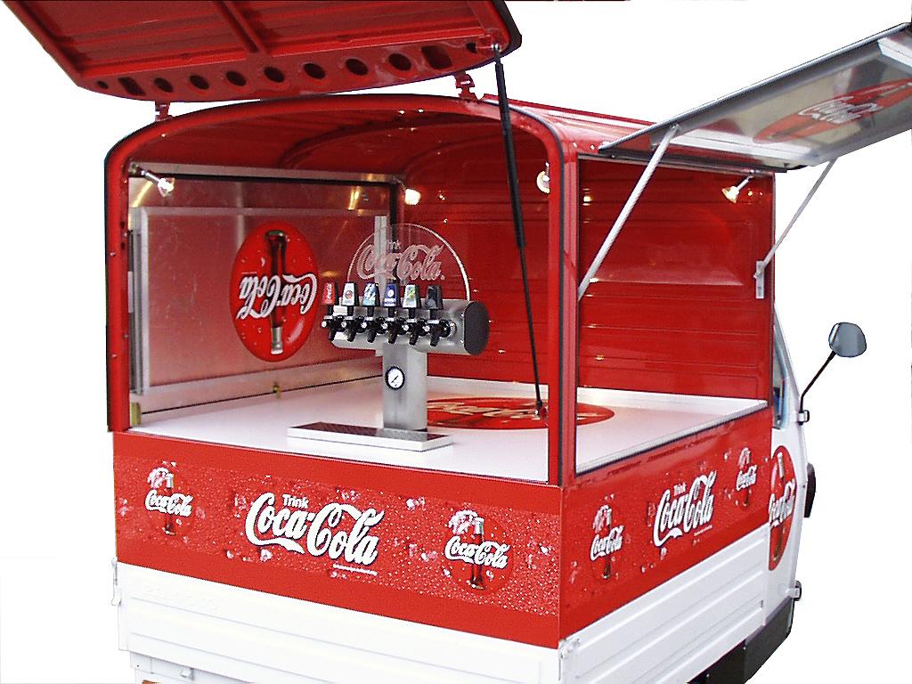 Coca Cola AFG Getränkemobil