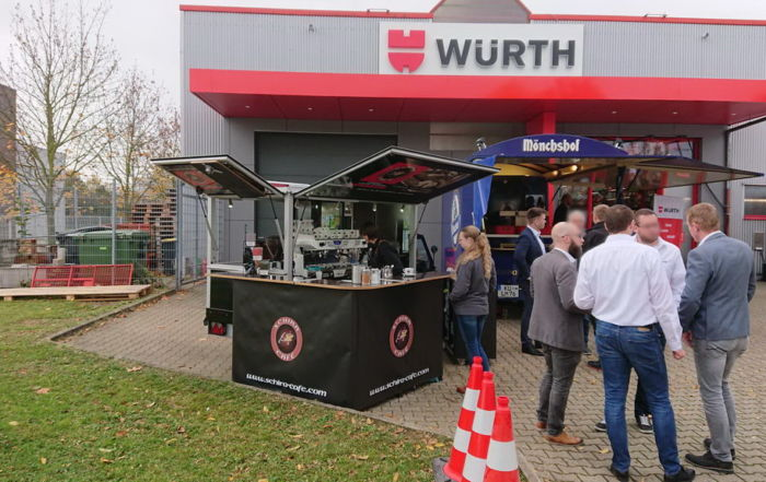 Ape Cafemobil in Kassel bei Würth