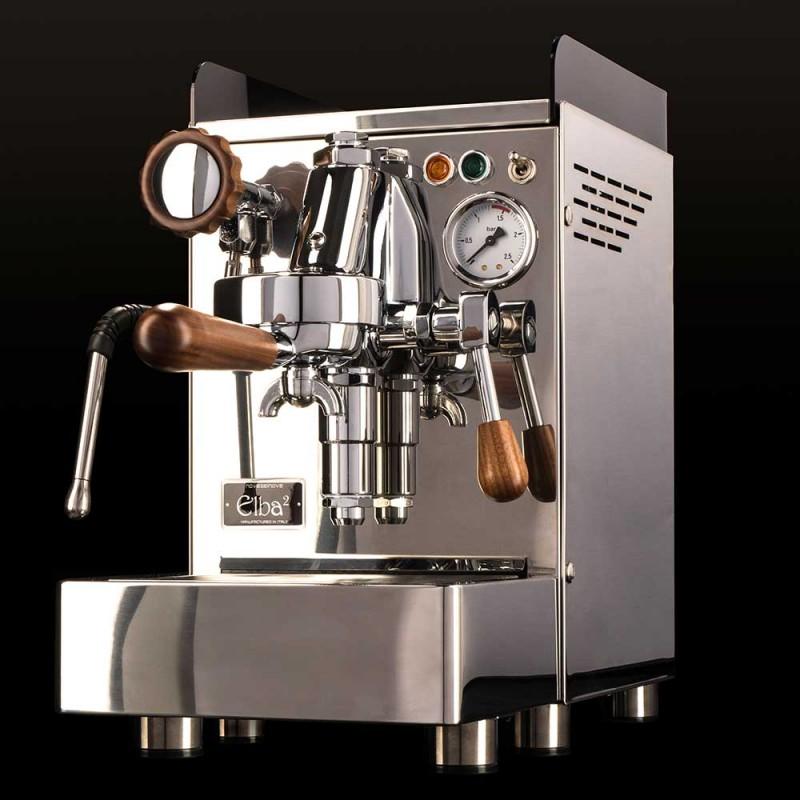 Siebträger und Espressomaschine Elba2