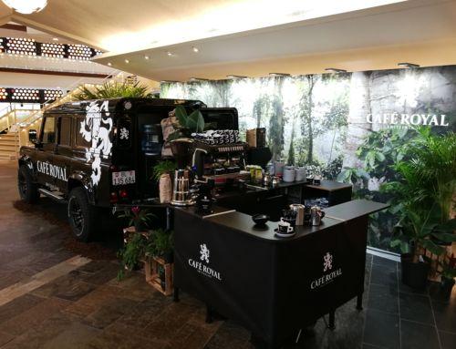 Landrover Defender Kaffeemobil – goldener Zuckerhut 2019 –