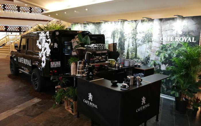Landrover Kaffeemobil
