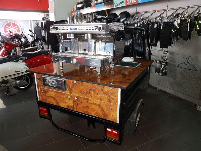 Ape 50 Kaffeemobil Basic das kleine Espressomobil