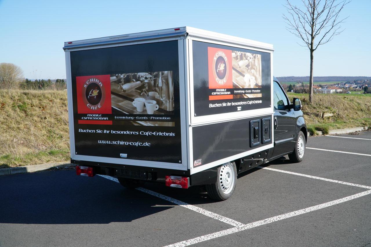 Fiat Doblo Kaffeemobil , unser neustes Barista Espressomobil auf der Basis des neues Fiat Doblos.
