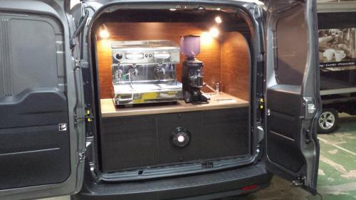 Fiat Doblo Basic Espressomobil Einschubsystem