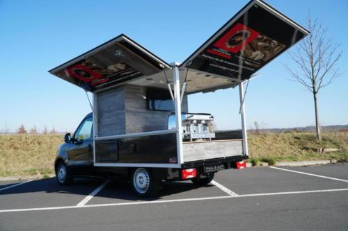 Fiat Doblo Kaffeemobil Modell 2020