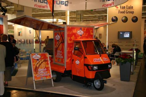 Ape1200 Bier Grillmobil , das Promotion Mobil